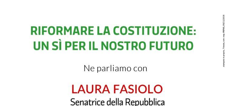 LUIGI ZANDA a Gorizia per il Sì alla riforma costituzionale