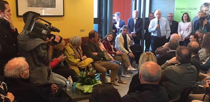 Gorizia: Roberto Collini inaugura la sede elettorale