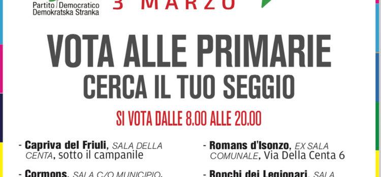 Dove posso votare in provincia di Gorizia?
